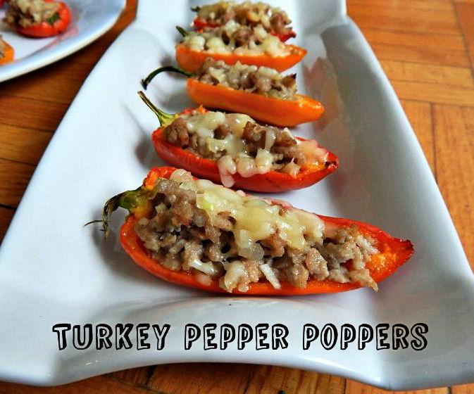 Turkey Pepper Poppers
