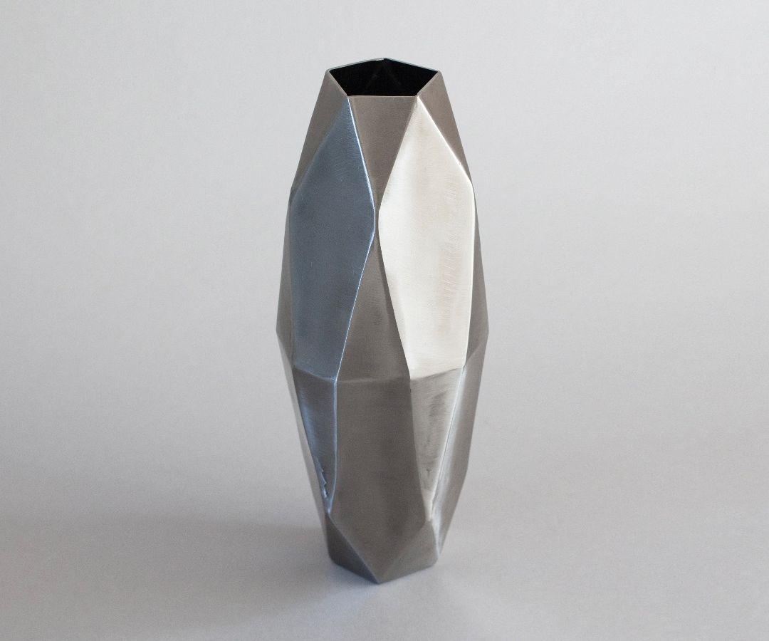 TIG-Welded Steel Vase