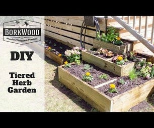 Tiered Herb Garden   a DIY Tutorial