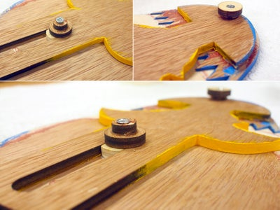Attach Guide and Mounting Cleat + Wax Guideway