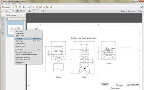 Method 2: Cropping in Adobe Acrobat