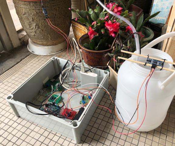 Automatic Irrigation System (Arduino) With Usb Type DC Submersible Water Pump