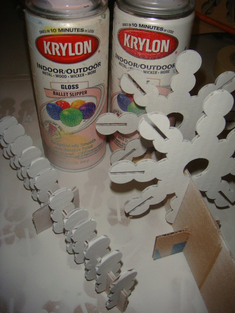 Painting the Snowflakes