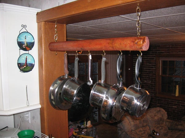 From Pallet to Pot Rack
