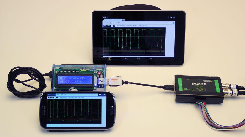 PiMSO - A Raspberry Pi based Wi-Fi Oscilloscope