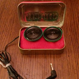 How to Make Altoids Tin Speakers