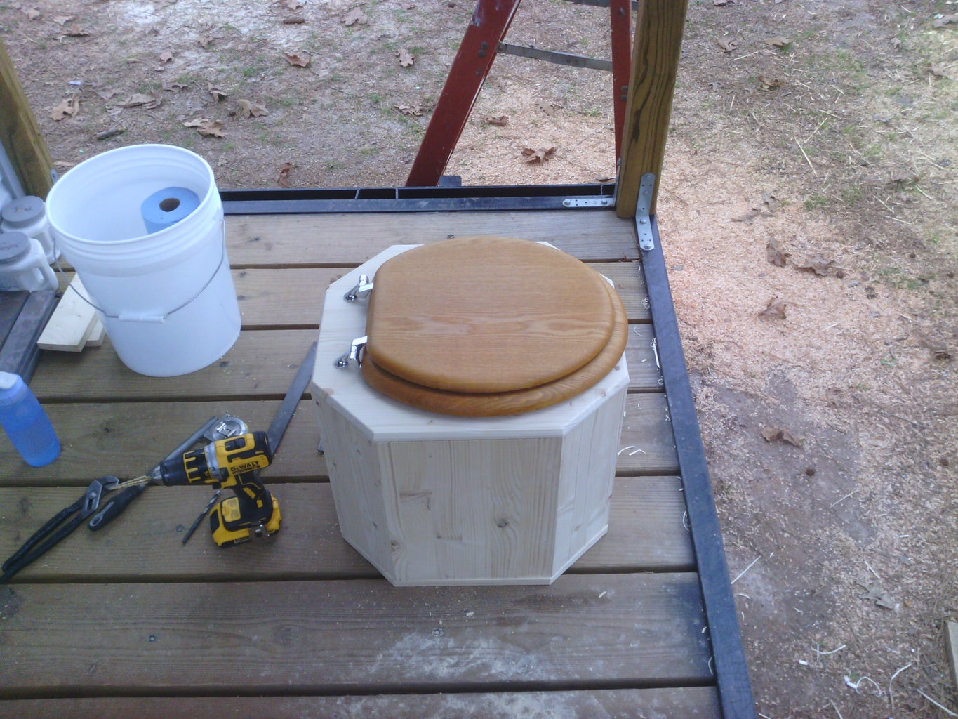 Assembling the Toilet Base and Testing?