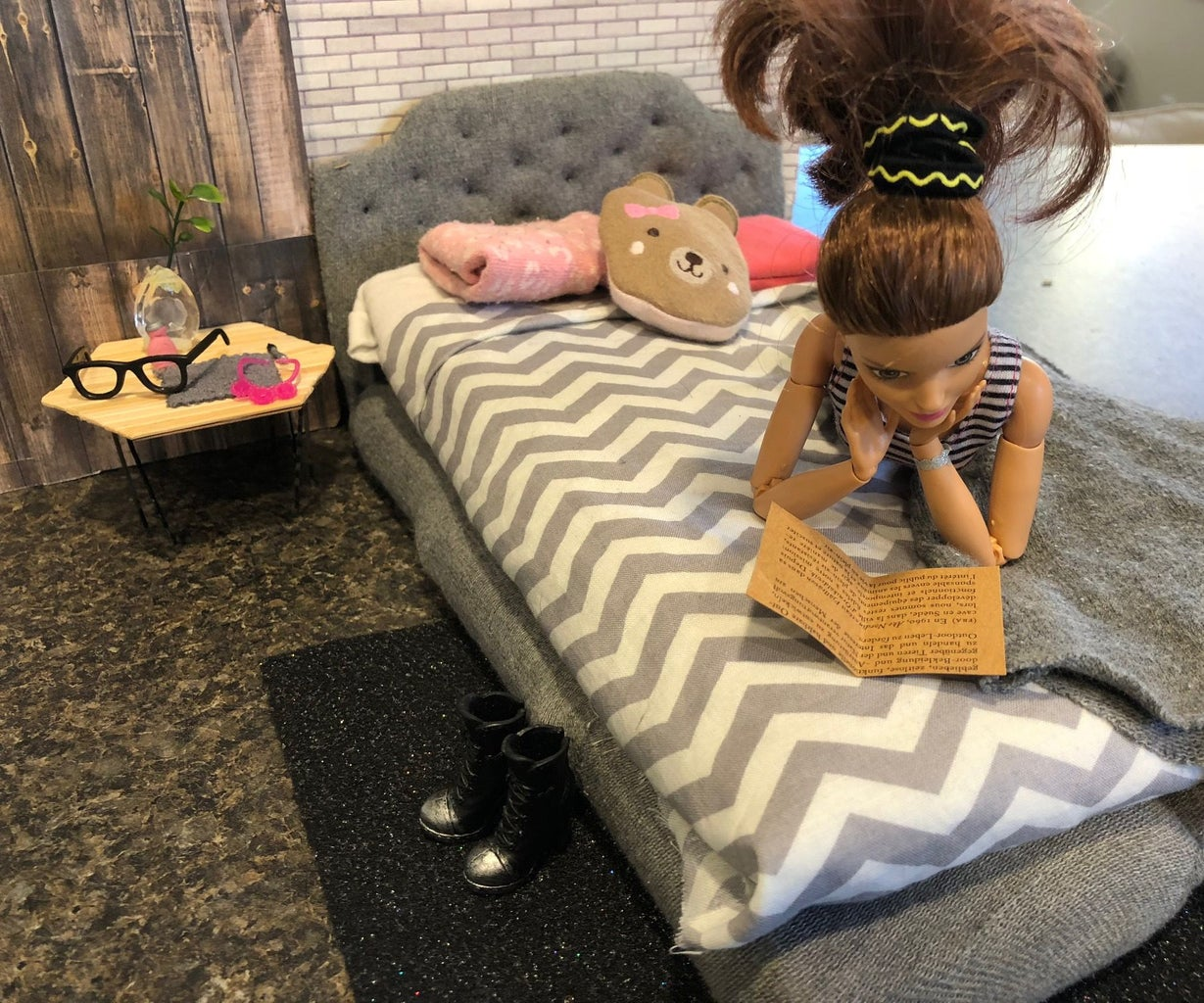 Make a Tufted Bed