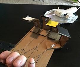 Mechanical Cardboard Hand
