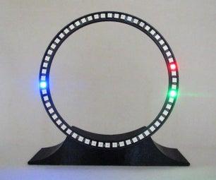 Desktop Equinox Clock