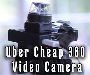 Uber Cheap 360 Video Camera
