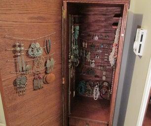 Handmade Jewelry Armoire