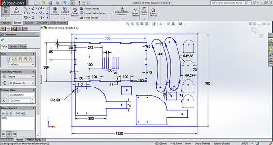 Modification in Mockup and Designing Final File for Cnc