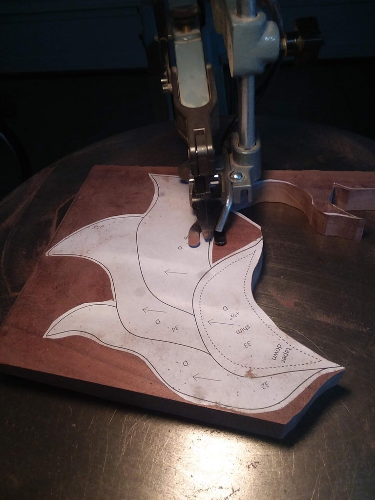 Cut Out Wood and Fit It Together