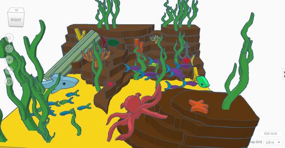 Scribble Ocean (scene)