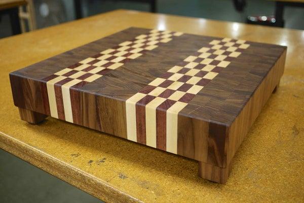 Make Adjustable Feet for a Butcher Block - Made at Techshop