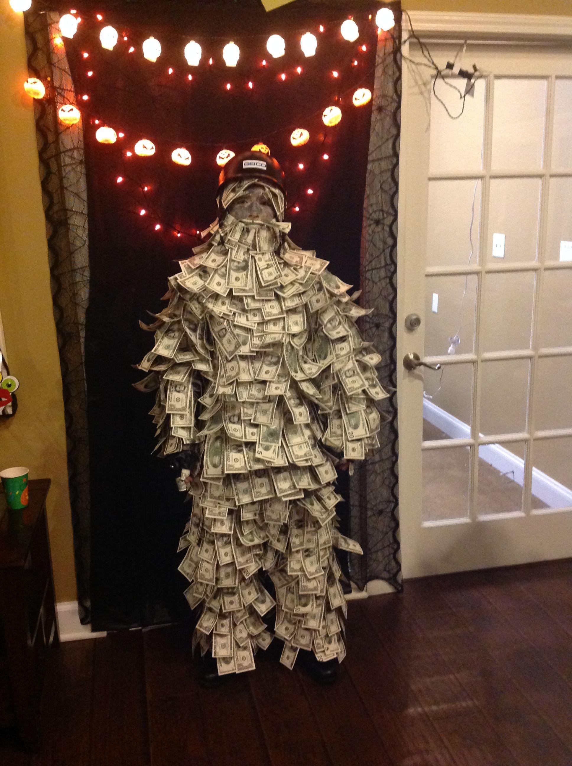 Geico Made of Money Man Costume