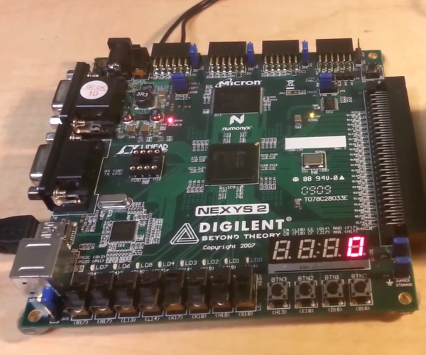8 Step FPGA Sequencer and Synthesizer