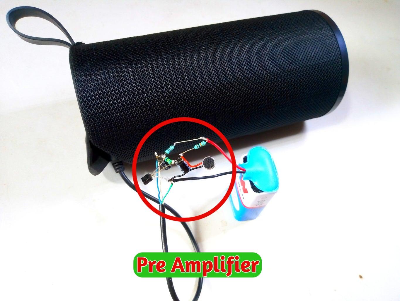Make Pre Amplifier Circuit