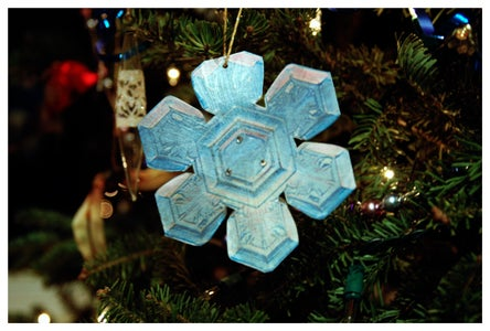 Holiday Photo Gift Tag/Ornament Card