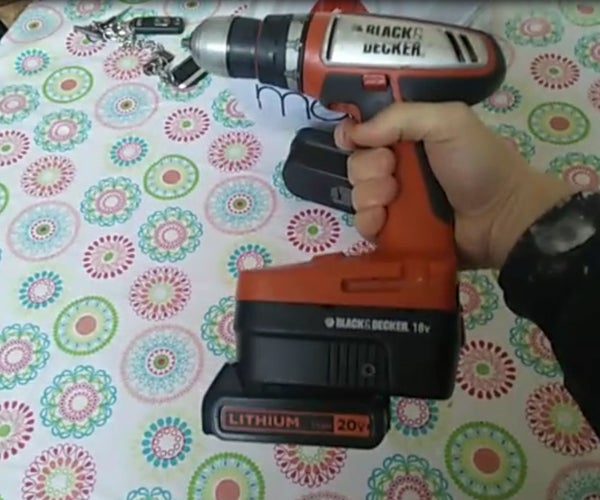 Adapter for Black and Decker 18v Ni-Cd Drill to 20v Lithium