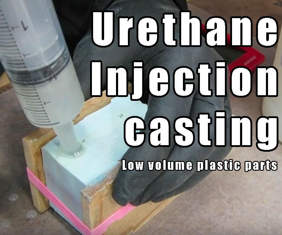 Urethane Resin Casting a Joby Gorilla pod Hotshoe Camera Mount - Reaction Injection Molding (RIM) Part:2