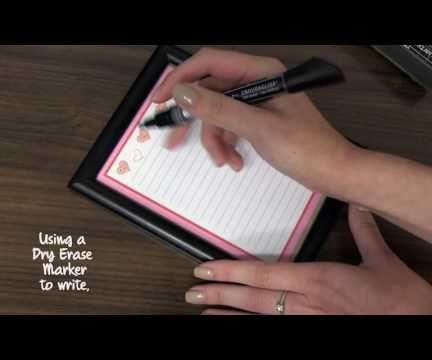 DIY: Reusable To-Do List