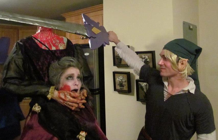 Halloween 2012 - Headless Marie Antoinette
