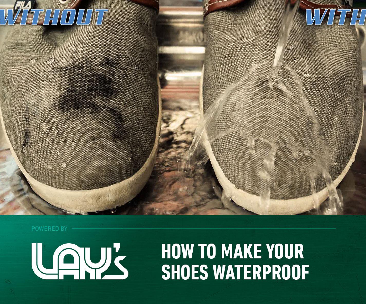 Regular Shoes to Be Waterproof