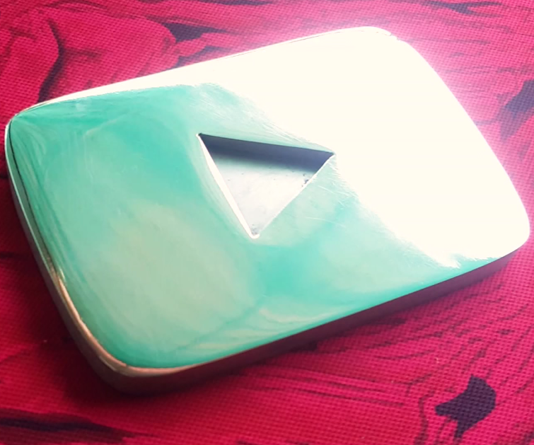 Making Youtube Playbutton From Raw Mild Steel