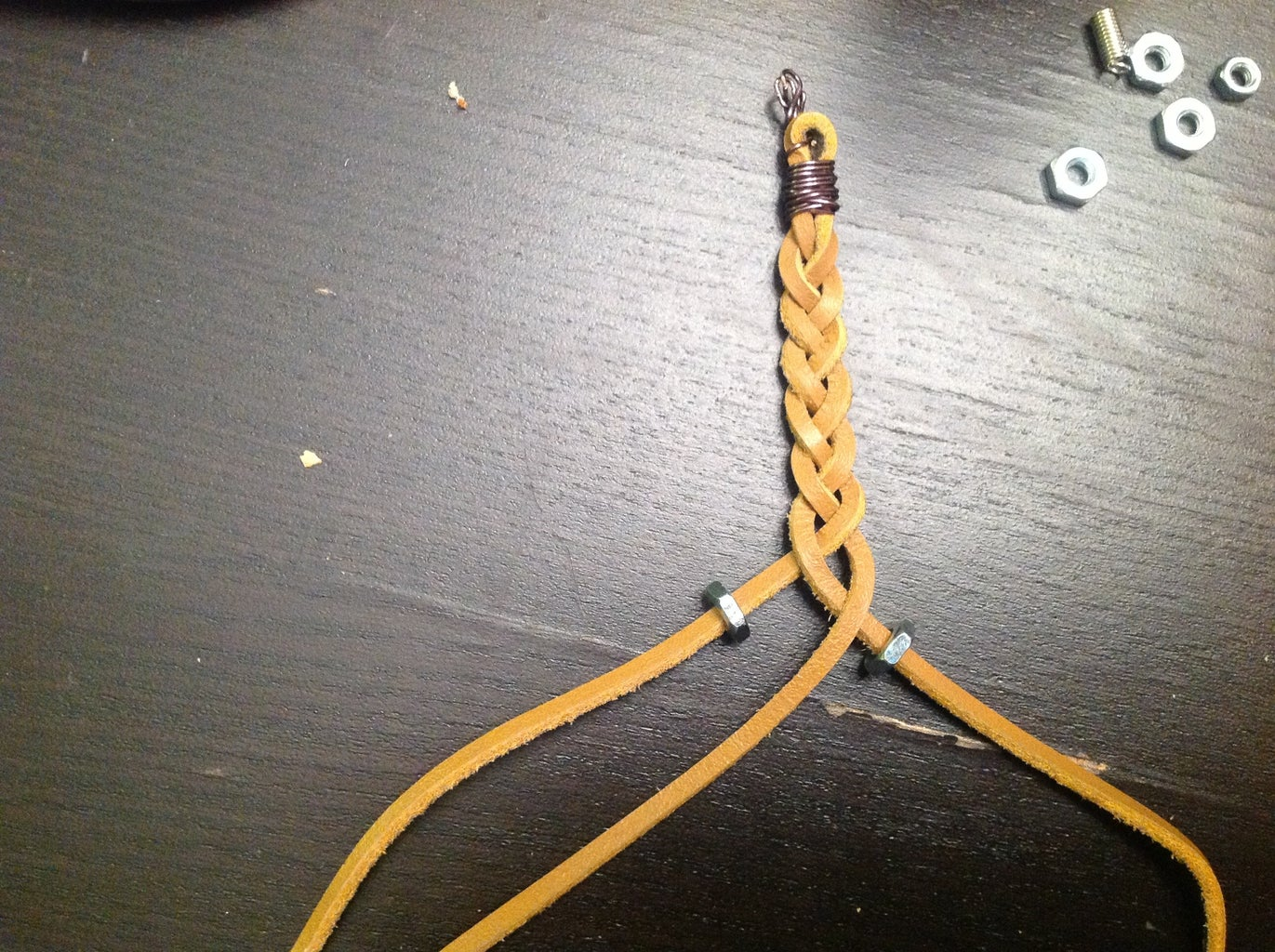 Add Hex Nuts to the Braid