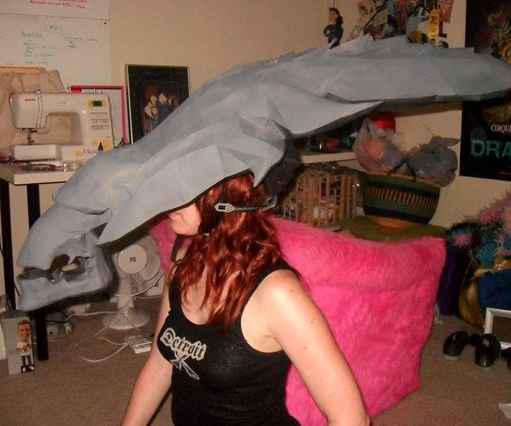 Pepakura Alien Queen