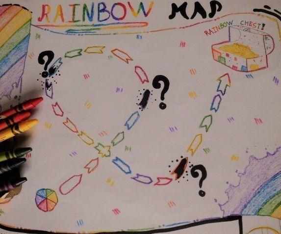 EASY Rainbow Map! ( GAME )v.2