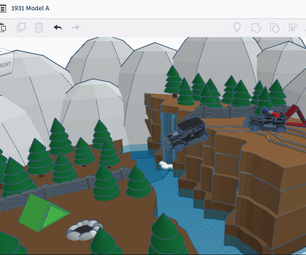 How to Make a Model a and Scene Using Tinkercad