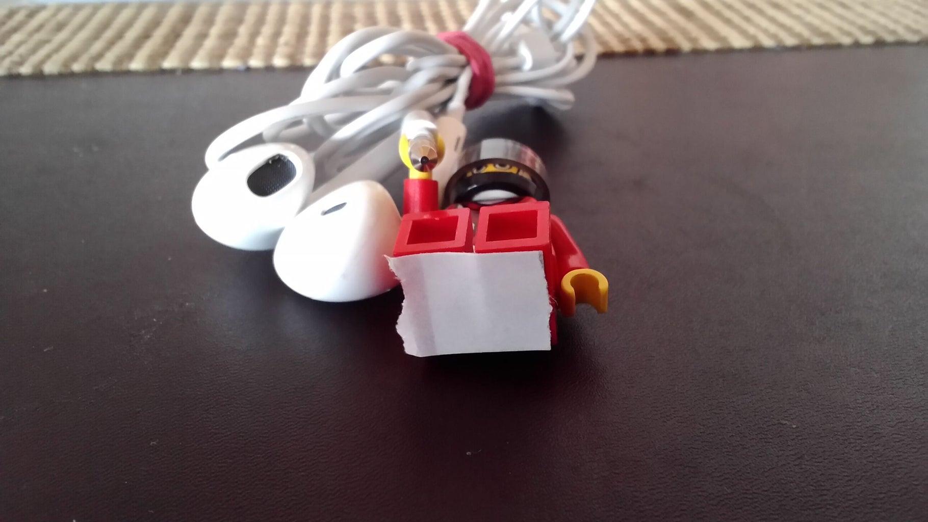 Stick the Sticker on the Lego Man