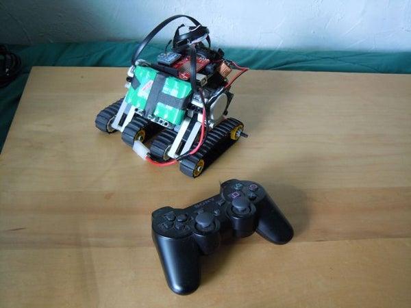 Use a PS3 Controller to Control an Arduino NXT Bot