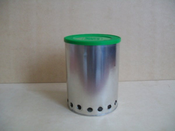 """How to Make a Lightweight  """"Hybrid Wood Gas Stove-Alcohol Stove"""""""