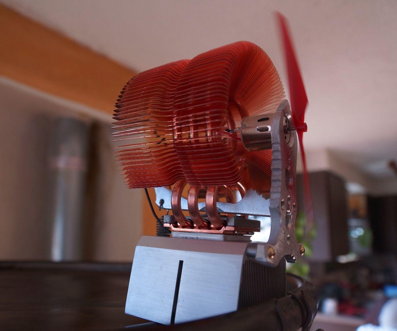 Peltier Fan / Phone Charger