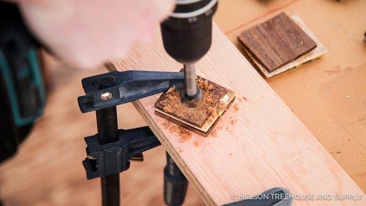 Drill Inner Hole With Forstner Bit