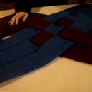 Easy Crafts with Knitted Rolls: Decorative Shawl