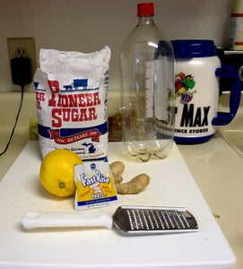 Homemade Ginger Beer (like Ale, Except Brewed Yourself!)