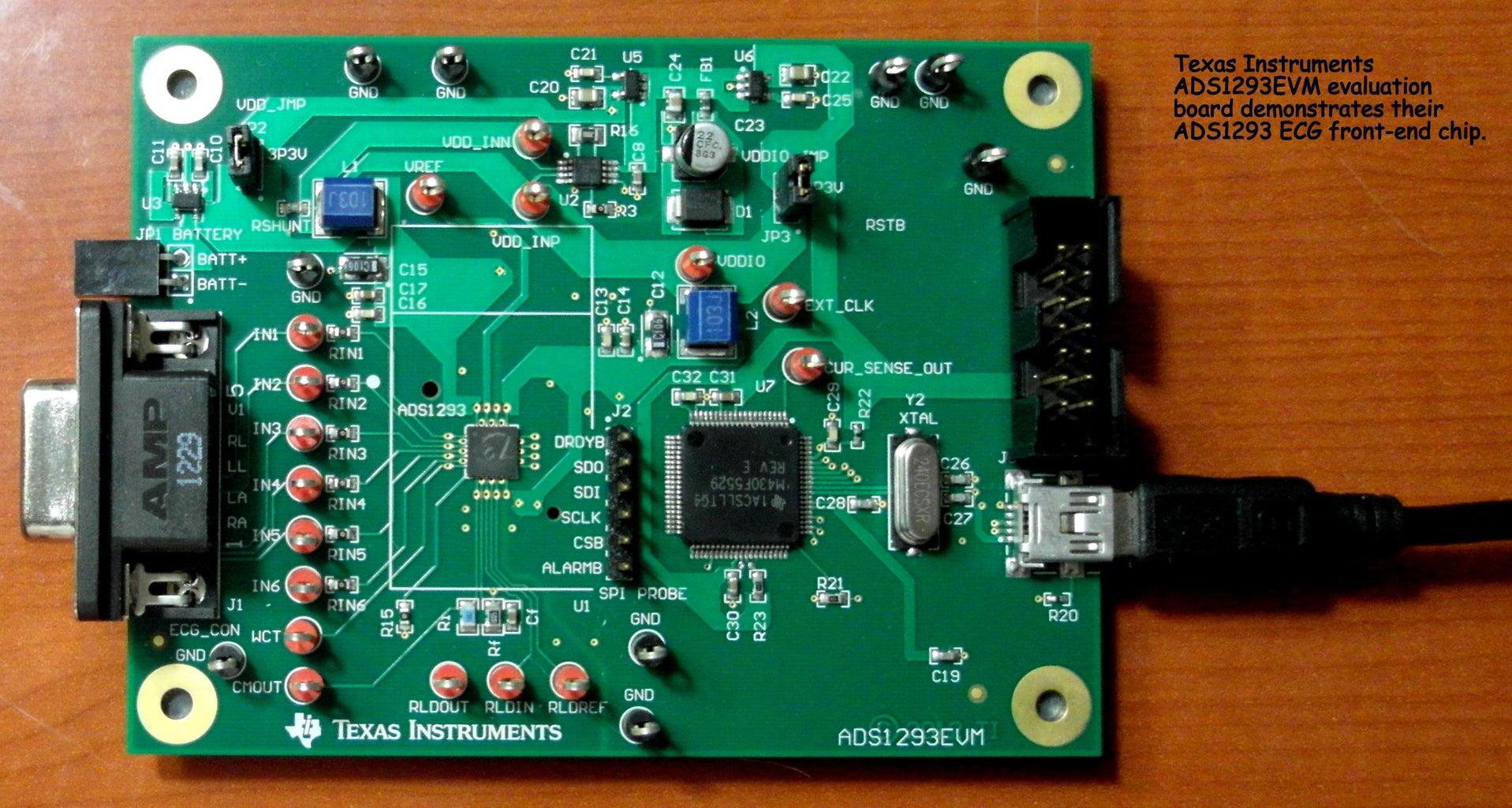 TI ADS1293 Single Chip Heart Monitor