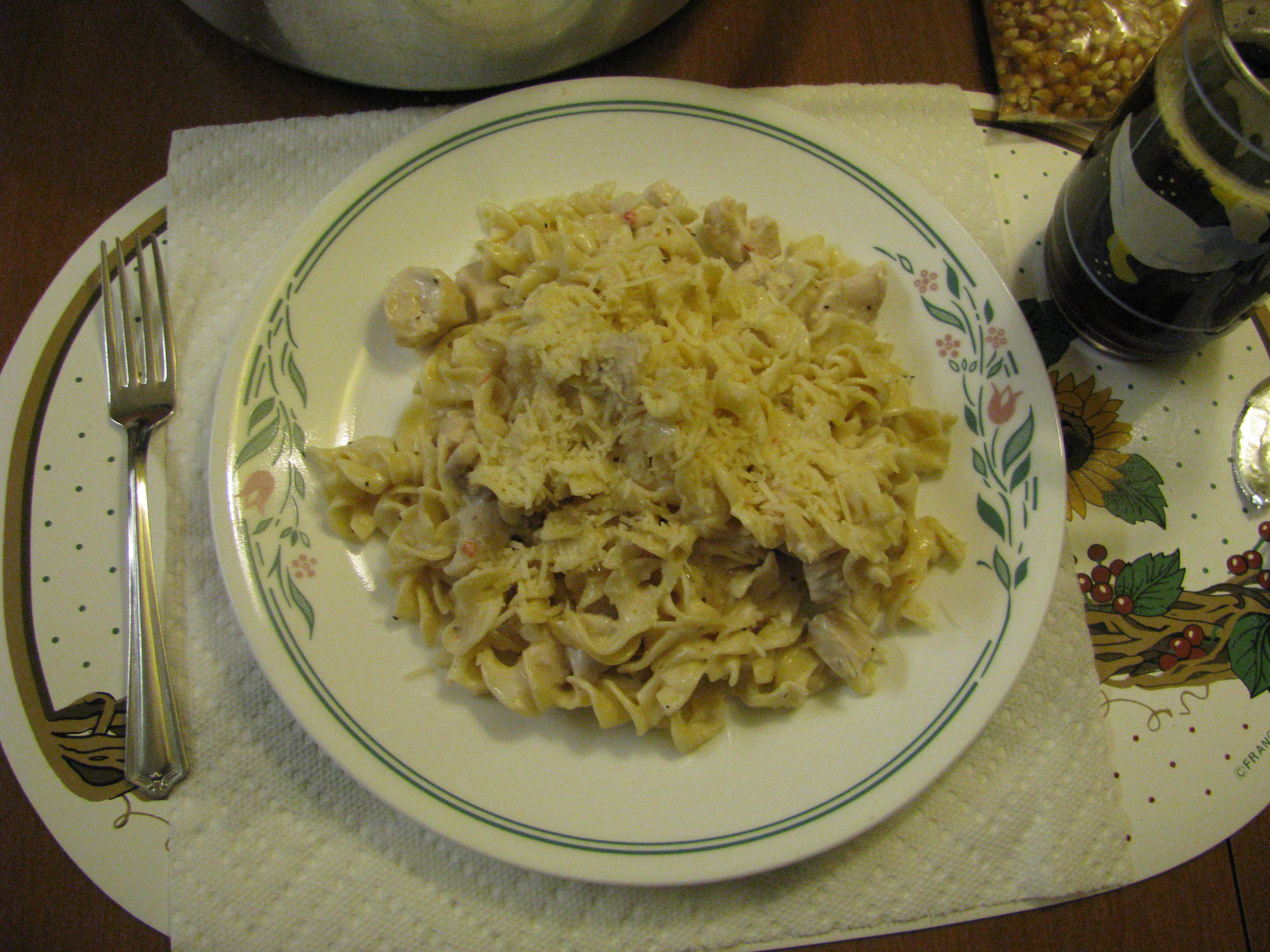 Italian Chicken and Noodles
