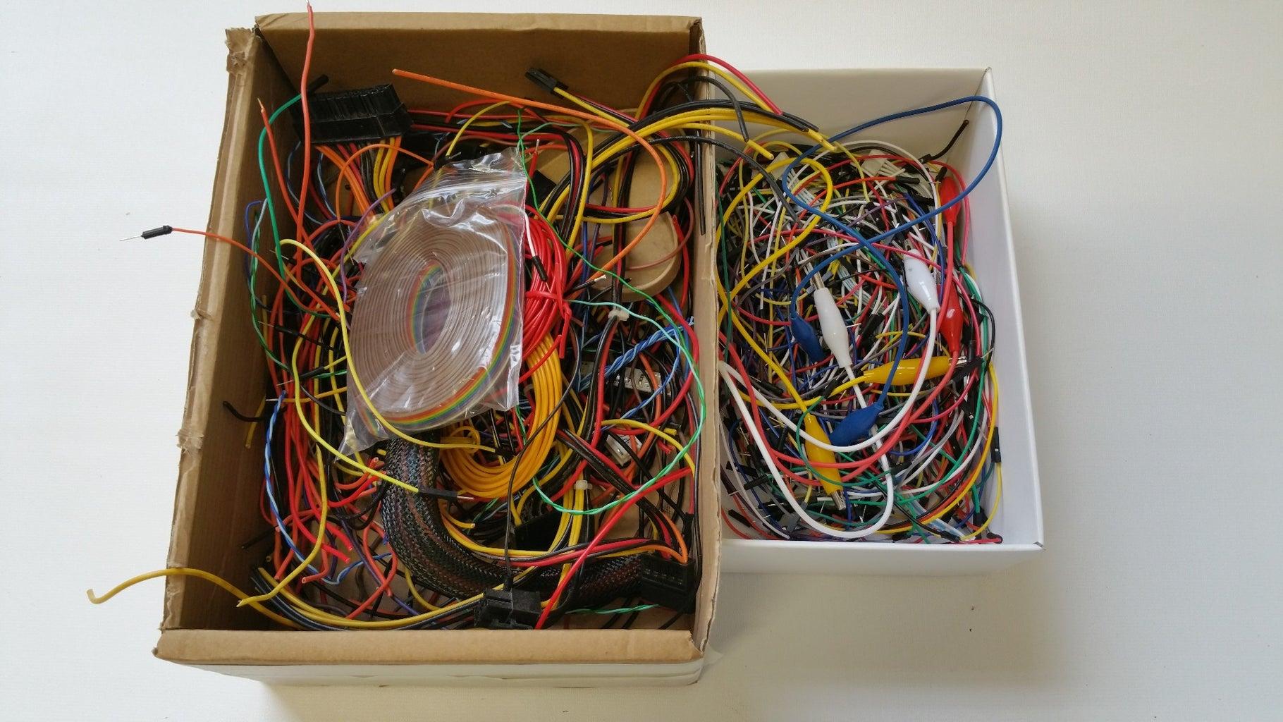 Workshop Wire Tidy