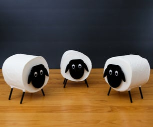 Toilet Paper Sheep