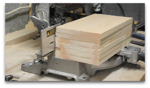 Cutting the Divider Pieces