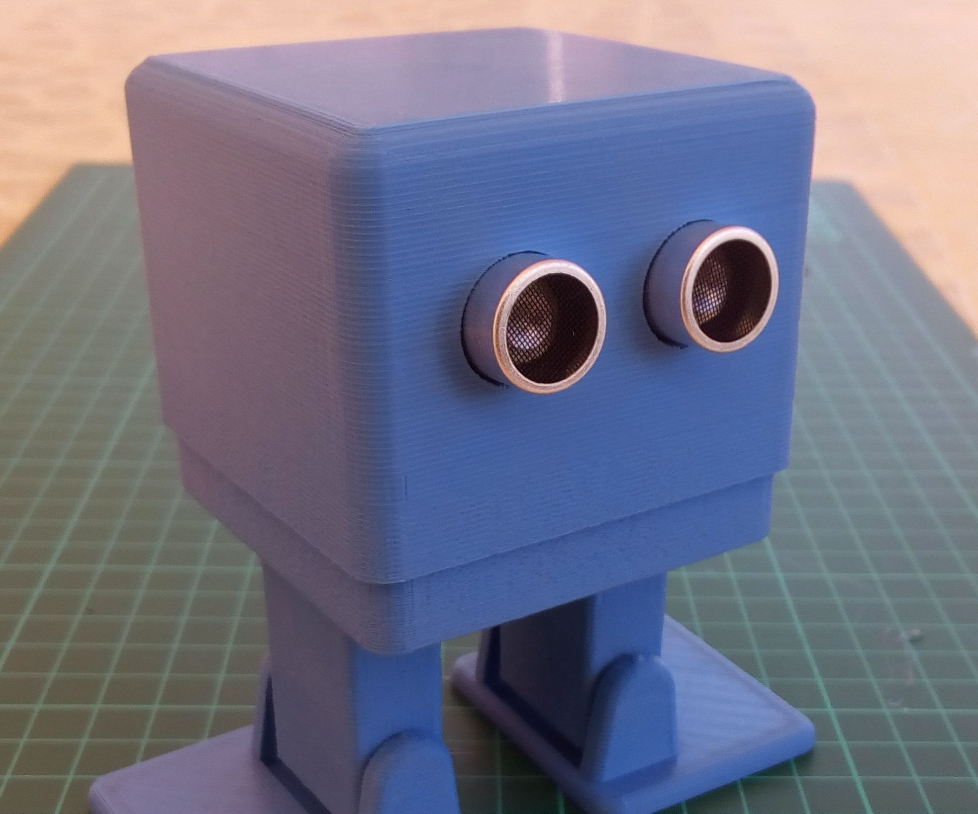 MiniZowi bluetooth dancer controled robot.