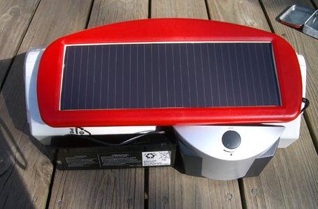DIY Solar Boombox / GhettoBlaster