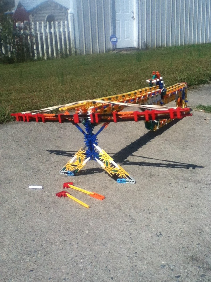 Knex Crossbow CENTER FIRE