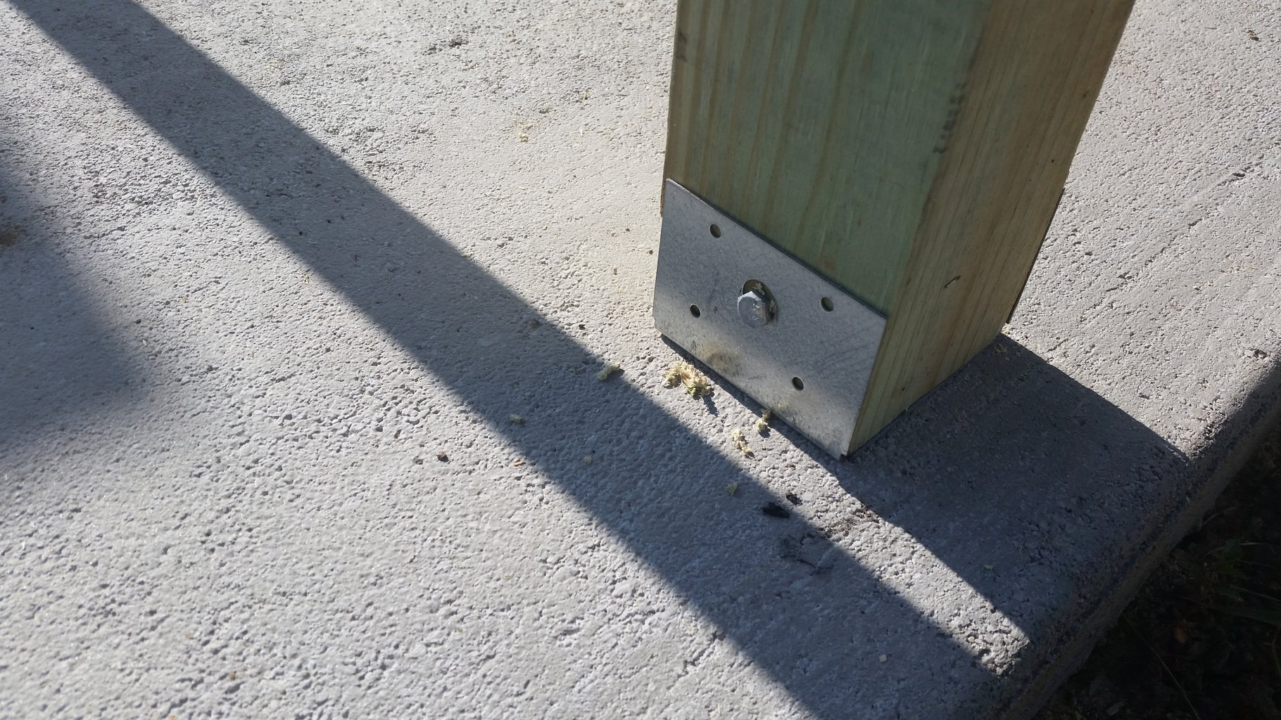 Concrete Anchors and Post Base
